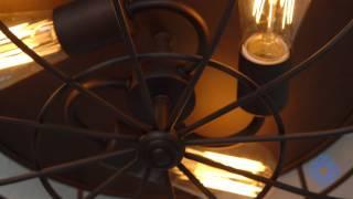 Millennium Lighting Neo-Industrial Flush Mount Ceiling Lamp - Bellacor