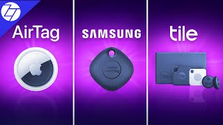 AirTag vs Samsung SmartTag vs Tile - The ULTIMATE Comparison!