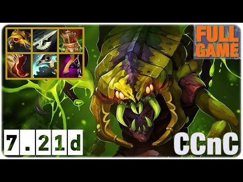 Cancer MID Carry Venomancer CCnC Full Game Dota 2 7.21d
