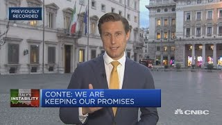 Italy submits draft 2019 budget to European Commission | Squawk Box Europe