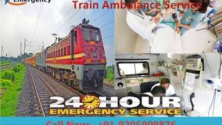 Falcon Train Ambulance in Delhi and Kolkata at Economic Rate