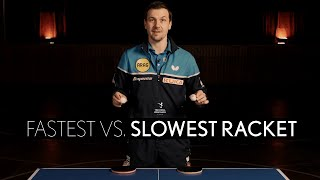 Fastest vs. Slowest Racket