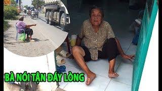 Lời tận đáy lòng của cụ bà gần 100 tuổi bị con bỏ rơi/ trao số tiền cuối cùng