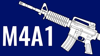M4A1 - Comparison In 10 Random Video Games