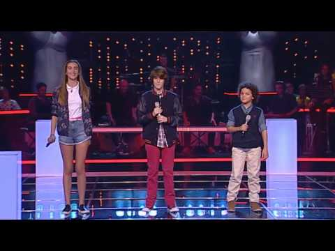 João Pinto VS Mariana Aragão VS José Moreira - We found love - The Voice Kids