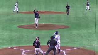 近本光司8回裏1死1,2塁で藤井貴之補強選手:日本生命からセンターへタイムリーヒット20180724