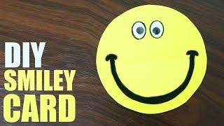 DIY Birthday Card for Brother - Smiley Birthday Card