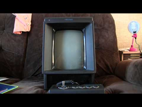 A look at a Vectrex (1982 video game console)