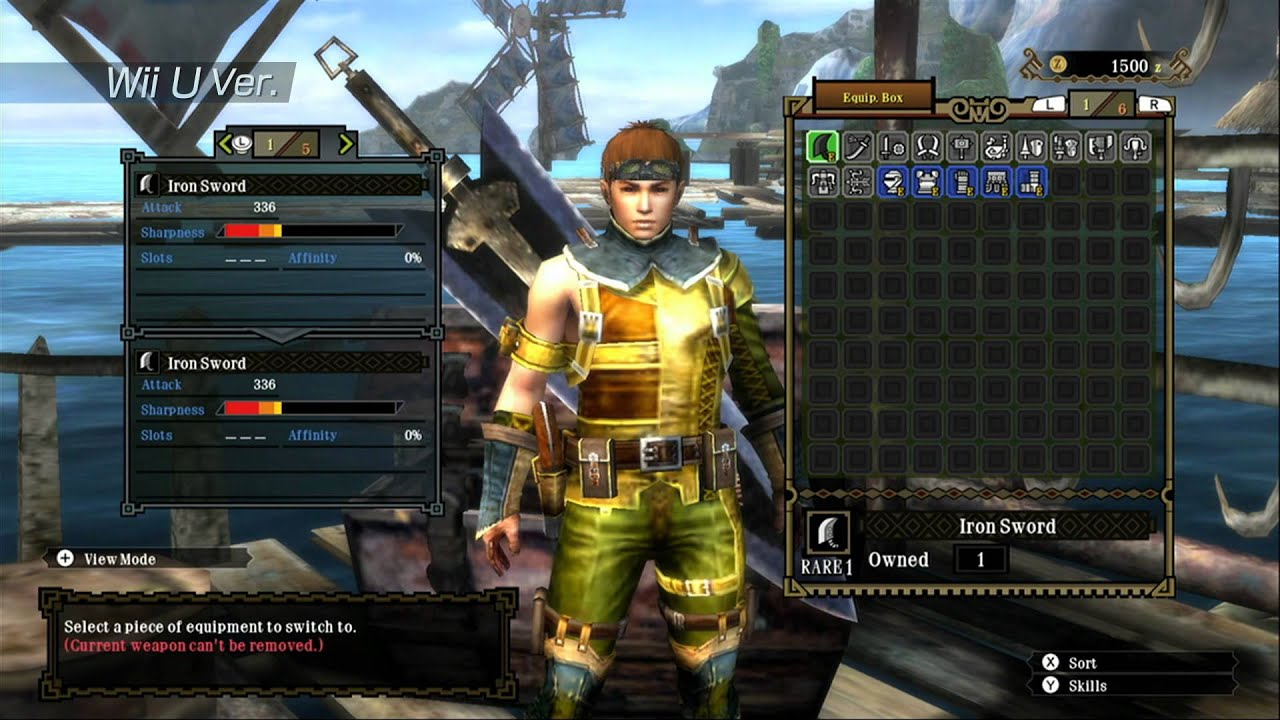Monster Hunter 3 Ultimate Will Let Your Wii U Talk To Your 3DS