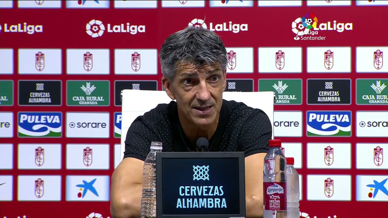 Rueda de prensa Granada CF vs Real Sociedad