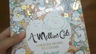 [REVIEW] A Million Cats - Fabulous felines to colour