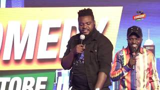 Alex Muhangi Comedy Store August 2019 - Madrat & Chiko