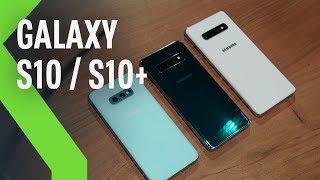 Samsung Galaxy S10 y S10+, así son