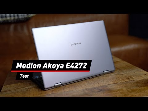 Schlichtes Convertible: Medion Akoya E4272 im Test!