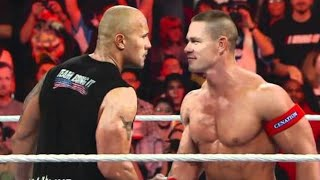 Raw: John Cena calls out The Rock and issues a WrestleMania