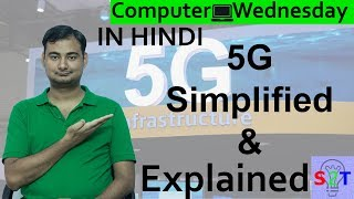 Science of 5G Network  Explained In HINDI {Computer Wednesday}