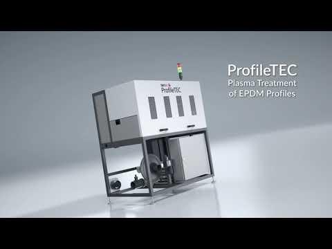 Video: Tantec Plazma ProfileTEC – Předúprava plazmou EPDM profilů před flokováním nebo lakováním