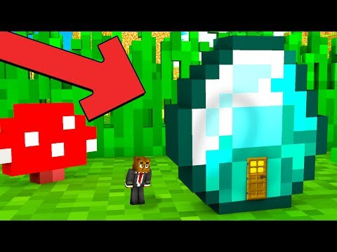 HOW TO LIVE INSIDE A DIAMOND IN MINECRAFT JeromeASF - Minecraft ftb hauser