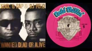 KOOL G RAP & DJ POLO - Wanted: Dead Or Alive - 1990 - Full LP