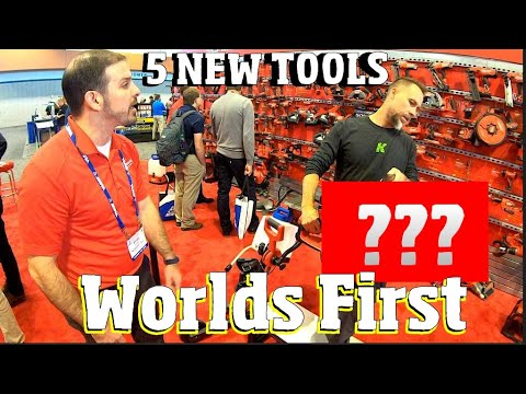 Worlds First! 5 new Milwaukee Cordless Power Tools Never seen before!
