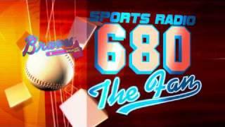 680 The Fan Braves DVD loop red