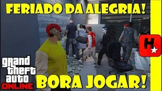 Bora jogar GTA V Online Unlimited MONEY!!