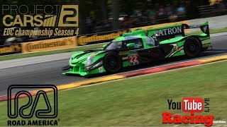 Project CARS 2 live @ Road America  LMP2 Championship EDC  PS4 Gameplay