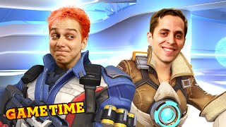 OVERWATCH THIS VIDEO! (Gametime w/ Smosh Games)