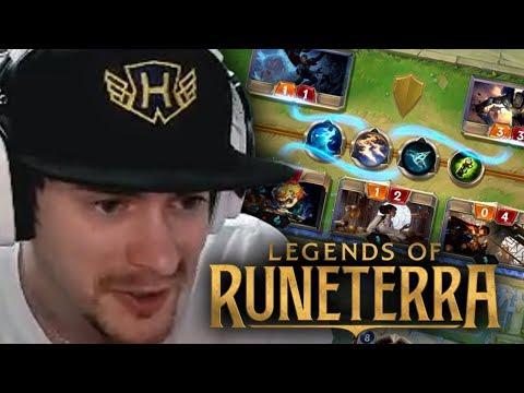 League of Legends karetní hra! - Legends of Runeterra