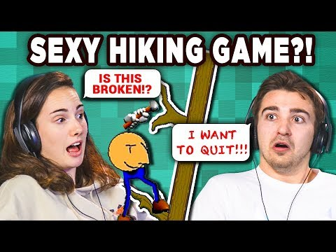 THE Most FRUSTRATING Game | SEXY HIKING (React: Gaming)