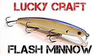Воблер lucky craft flash minnow 110-279 ghost brown