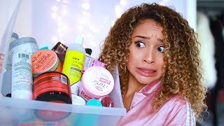 Mixing All My Curly Hair Products TOGETHER