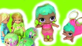 Куклы Лол #LOL Surprise Сюрпризы ЛОЛ! Барби и Эльза находят сестрёнок ЛОЛ!  Пупсы ЛОЛ
