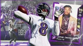 Lamar Jackson HUSHES The Haters w/ The Dot Of The CENTURY! (Madden 20 Ultimate Team)
