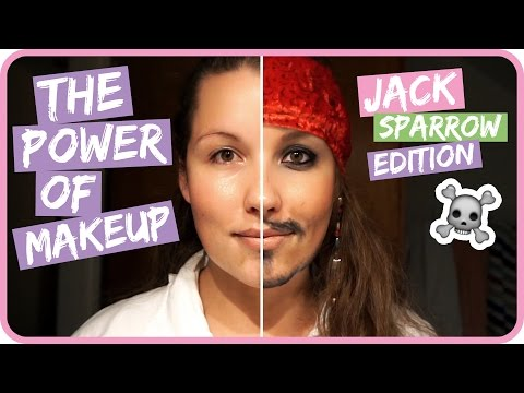 The Power of MAKEUP! Get unready mit Jack Sparrow II Sissi