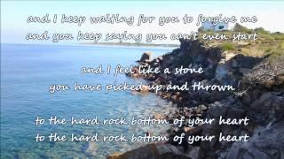 Randy Travis - Hard Rock Bottom Of Your Heart (with lyrics)
