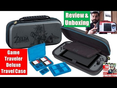 Nintendo Switch Zelda Game Traveler Deluxe Travel Case Review