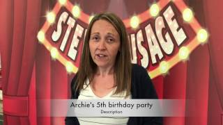 Archie's 5th birthday party