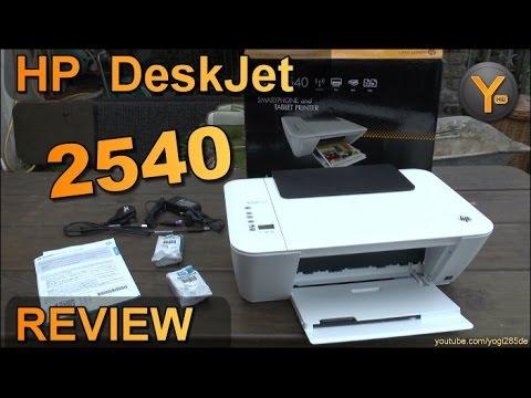 Review: HP DeskJet 2540 / Multifunktions Drucker / Scanner / Kopierer