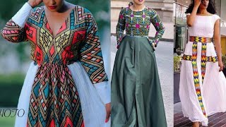Ethiopian Wedding || African Fashion || Ethiopian Womens Traditional & Modern Dresses