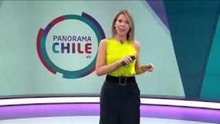 Entrevista de CNN Chile Panorama, sobre tecnología en liceo LAR y Escuela México Valdivia.