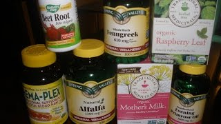 Natural Supplements for Pregancy and Breastfeeding!