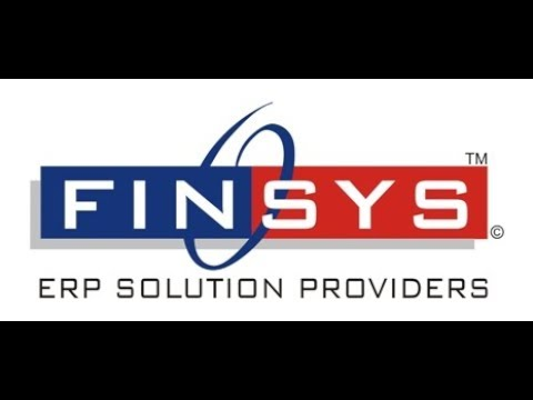 Finsys ERP Video 002 - Packaging ERP dashboard single customer