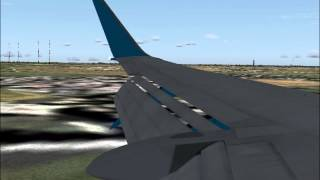 preview picture of video 'FS2004 Bahamasair 737-300 Smooth Landing Havana Cuba (MUHA)'
