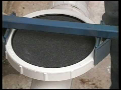 Installazione aeratori a bolle fini SANITAIRE per depurazione acque reflue