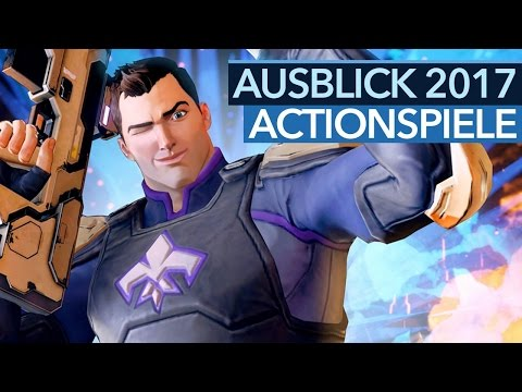 Actionspiele 2017 - Video: Wir zeigen die Actionkracher des kommenden Spielejahres