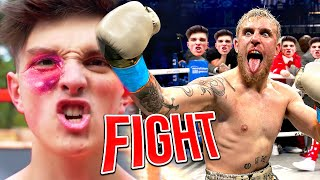 Morgz fight with Jake Paul.. (SHOCKING)