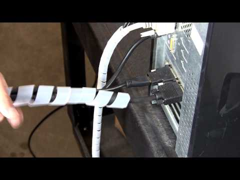 Managing Your Cable Clutter Part 1: Spiral Cable Wraps