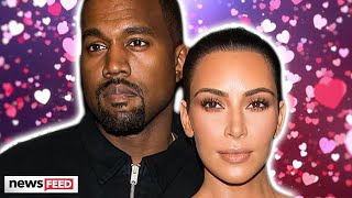 Kim Kardashian Is EMOTIONAL Reuniting With Kanye West In Wyoming!