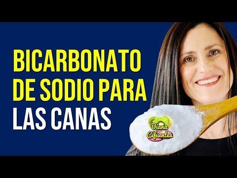 BICARBONATO DE SODIO Para Las Canas